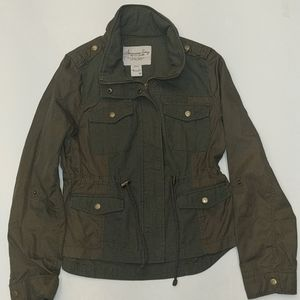 NWOT Army Green Utility/Military Jacket SZ M
